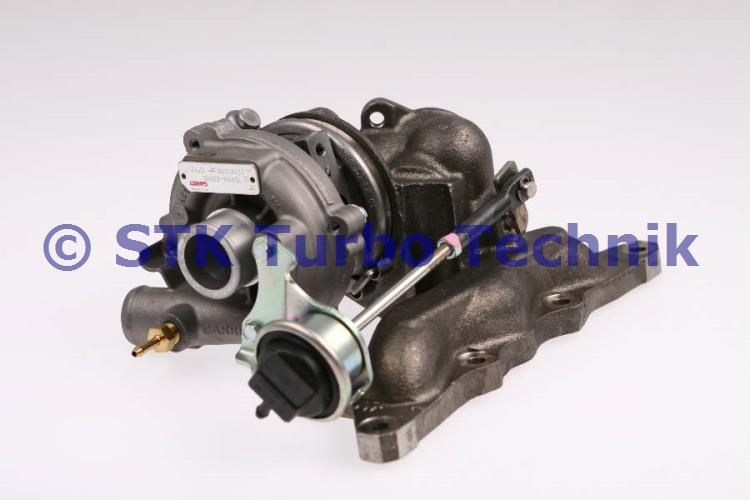 Smart 0,6 (MC01) XH Turbolader A1600960199