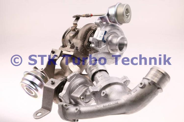 Delta III 1.9 MJT Twinturbo Turbocharger 55215256