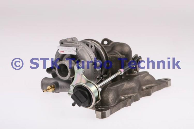 Smart 0,6 (MC01) YH Turbolader 1600960499