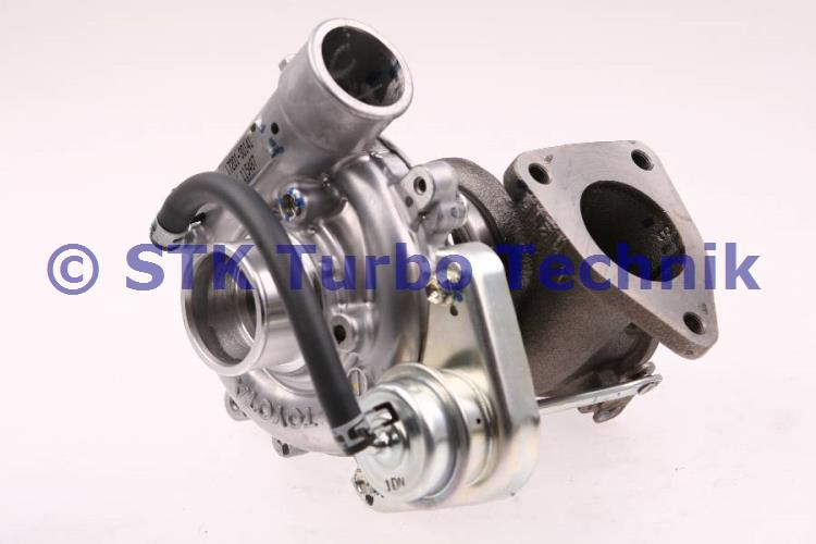 Hilux 2.5 D4D Turbocharger 17201-30140