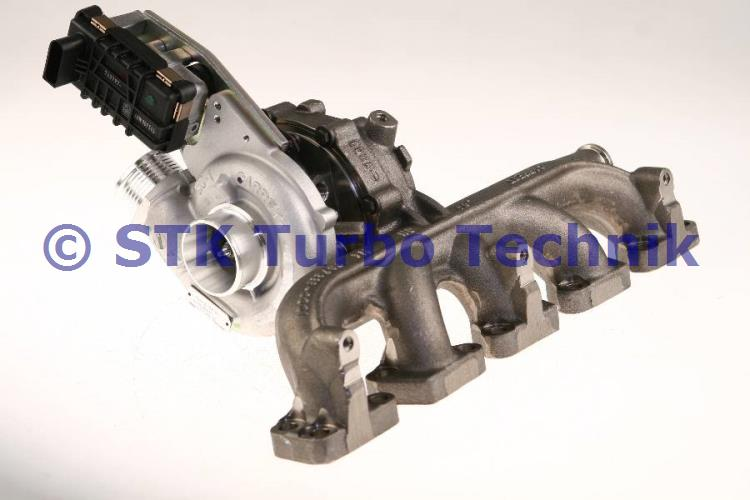 S40 II 2.4 D5 Turbolader 50493434